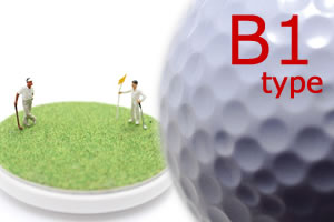 4スタンス理論!B1タイプのプロゴルファーでチェック!