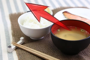 和食の配膳位置!ご飯はどうして味噌汁の左側に置くのか!?